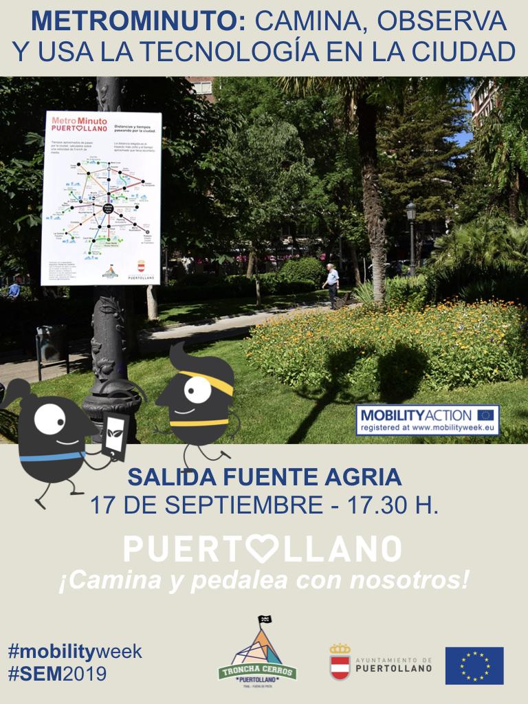 Camina, observa y usa la tecnología en la ciudad con Troncha Cerros
